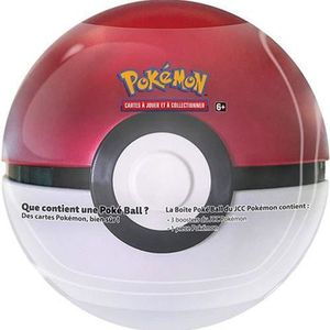 CARTE A COLLECTIONNER Pokémon - Pokéball Tin Box 3 Boosters - Français