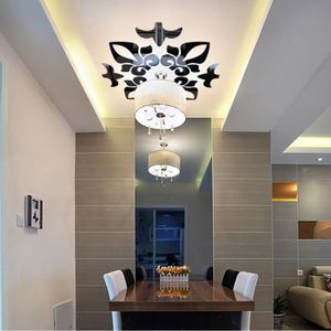 STICKERS Creative abstrait acrylique style 3D Wall Stickers