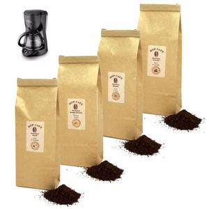 CAFÉ Pack Découverte Café Aromatisé Moulu pour Cafetièr