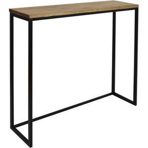 TABLE À MANGER SEULE Table haute – Mange debout Icub. - industriel vint