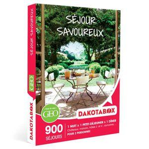 COFFRET SÉJOUR Coffret Cadeau - Séjour savoureux - Dakotabox