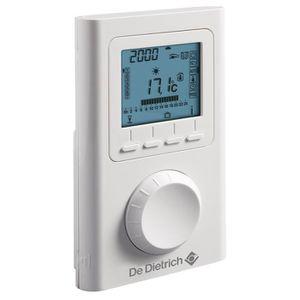 Thermostat d'ambiance DEDIETRICH AD 137 filaire pour chaudière basse température