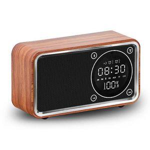 Radio réveil Réveil Digital Multifonctions Bluetooth Radio Affi