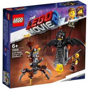 ASSEMBLAGE CONSTRUCTION LEGO® Movie 70836 Batman™ en armure de combat et B