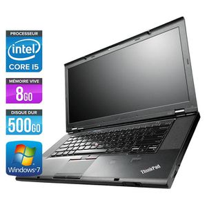 ORDINATEUR PORTABLE Lenovo T530 - 15.6'' - Core i5-3320M -8Go -500Go