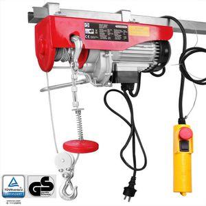 TREUIL - PALAN Treuil électrique 125/250 kg avec câble en acier