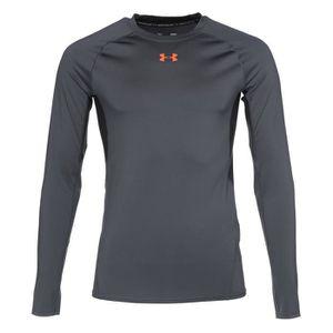T-SHIRT UNDER ARMOUR T-Shirt manches longues - Homme - Gri