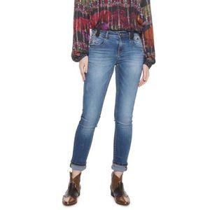 Desigual Denim/_pipin Jeans Slim Donna
