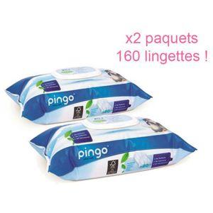 SET DE SOIN PINGO: Lingettes écologiques PH Naturel pour peaux