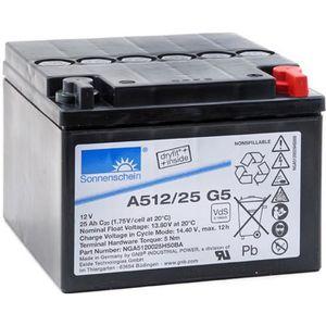 BATTERIE VÉHICULE Batterie plomb etanche gel A512/25 G5 12V 25Ah