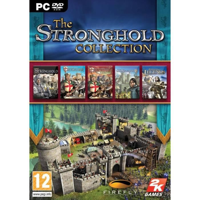 JEU PC THE STRONGHOLD COLLECTION / jeu PC DVD-ROM