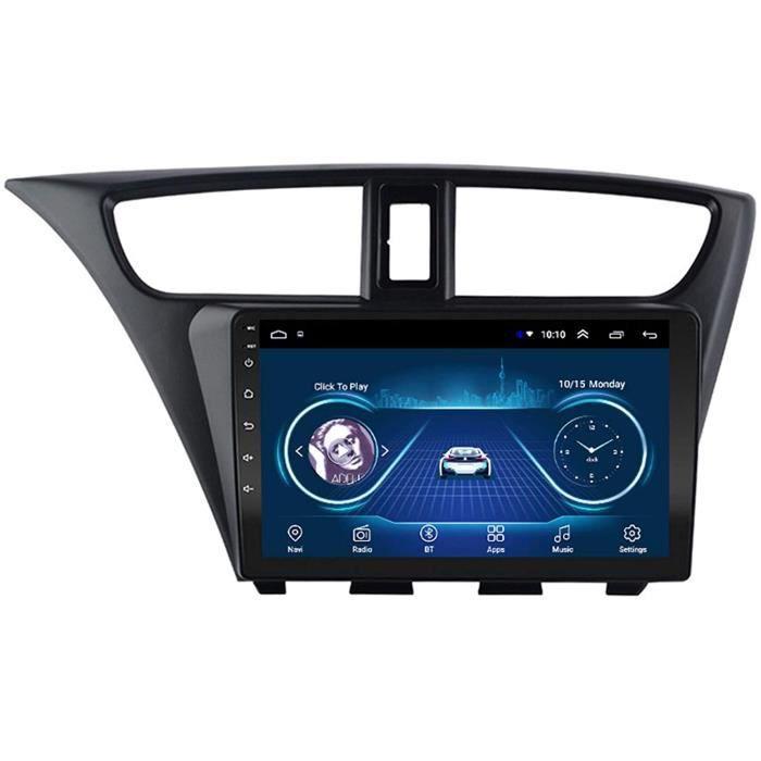 Dscam Autoradio St&eacuter&eacuteo de Voiture An oid 9.1 pour Honda Civic 2012-2017, 9- &Eacutecran Tactile HD Lecteur Radio 352