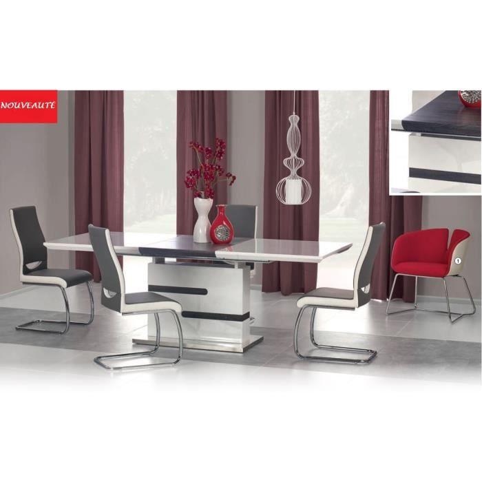 MONACO TABLE A MANGER DESIGN EXTENSIBLE 160÷220 cm/90cm/76 cm