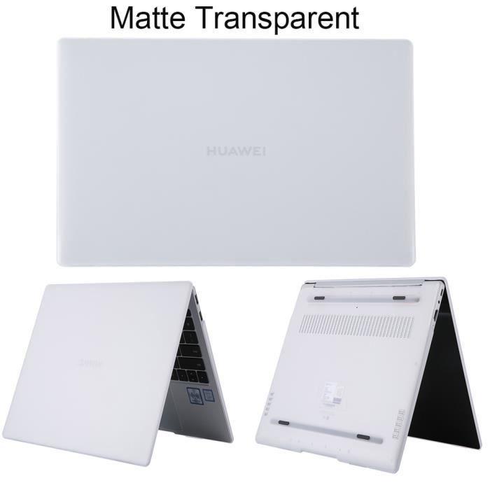 Sacoches & Housses Ordinateur,Coque pour Huawei MateBook X Pro D14 D15 13 14 pouces - Type Matte Transparent-new Mate book D 14