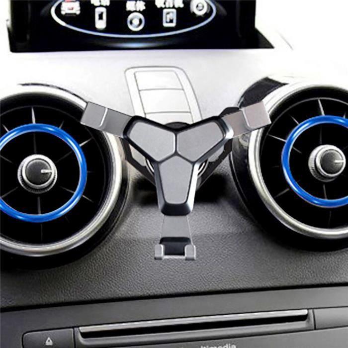 Support pour téléphone d'agrafe de support de bâti de sortie d'évent de voiture pour Audi A1 A3 support - Type Black Y Shape