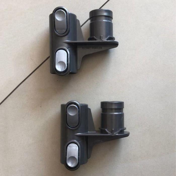 2 pcs Accessoires de tête de rangement pour aspirateur Dyson DC58 DC59 DC62 V6 DC35 DC45 la20724