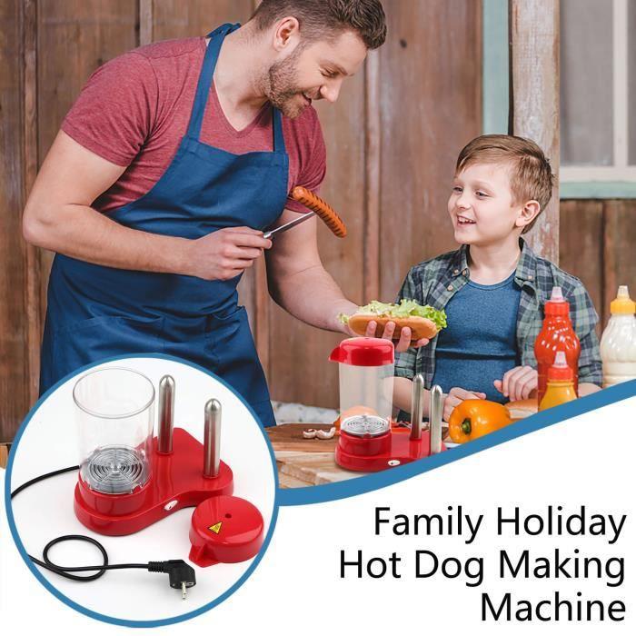 Mini machine essentielle à la mode de hot-dog de partie rapide et efficace à la maison - MM 808