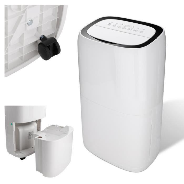 Hengda déshumidificateur jusqu'à 26 L / jour déshumidificateur taille de la pièce jusqu'à 20 ~ 30 m² déshumidificateur à drainage