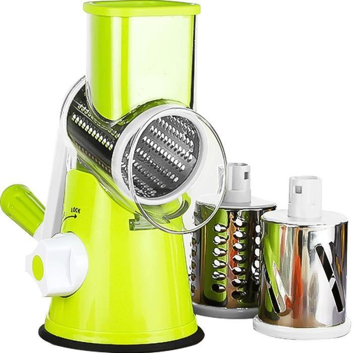 Hachoir manuel,3 en 1 Multi fonction râpe légumes déchiqueté pomme de terre Machine légumes râpe trancheuse manuel - Type big 3in1