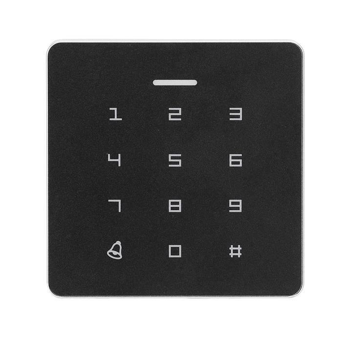 Badge rfid Serrure de porte de mot de passe de clavier de la machine RFID -contrôle d'accès A2 avec couverture et étiquettes 10PCS