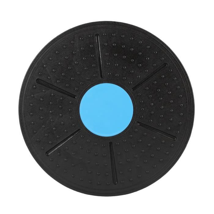 Fitness Balance Board Disc (Noir) Sports Yoga Stability Board 37cm HB018 -QNQ