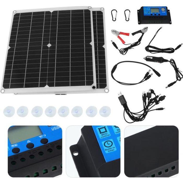 1 SET EXTÉRIEUR 300W Panneau solaire KIT PLATEAU kit photovoltaique - kit solaire genie thermique - climatique - chauffage