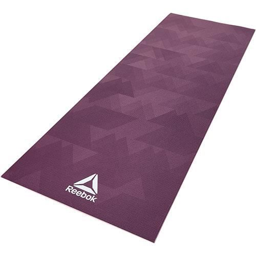 Reebok Tapis de yoga 4mm Géométrique