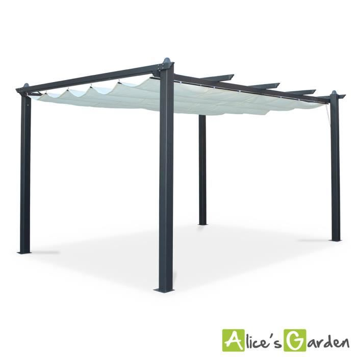 tente de jardin pergola aluminium 3x4m condate achat vente tonnelle barnum tente de. Black Bedroom Furniture Sets. Home Design Ideas