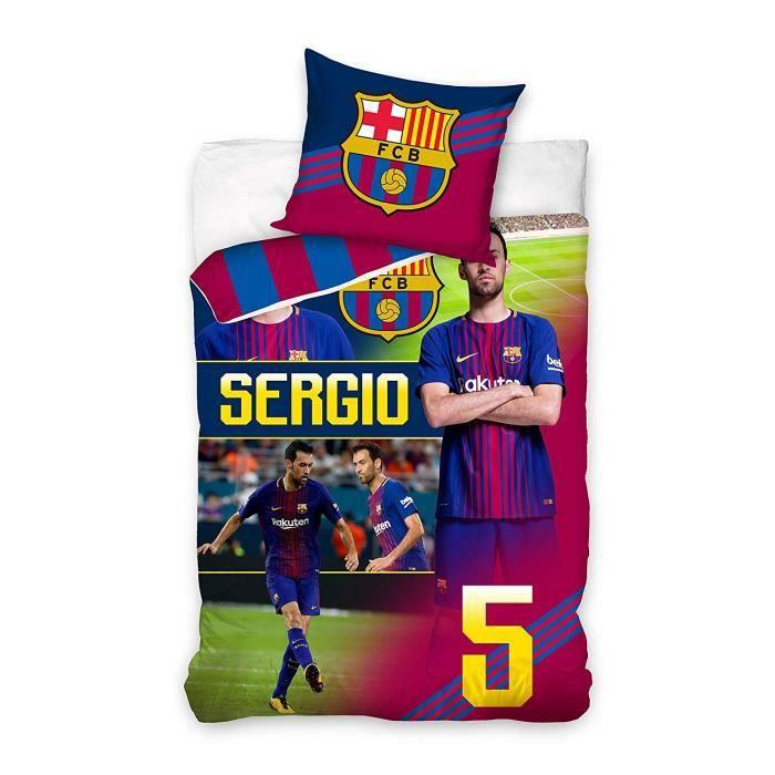 HOUSSE DE COUETTE SEULE Parure Double FC Barcelone ( nouveaute)