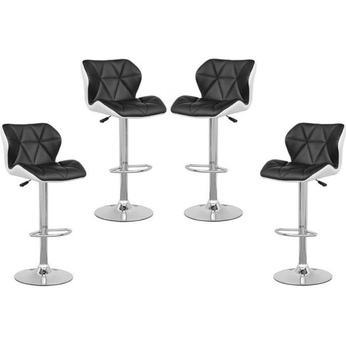 Tabouret de bar lot de 4 - Tabouret de bar cdiscount ...