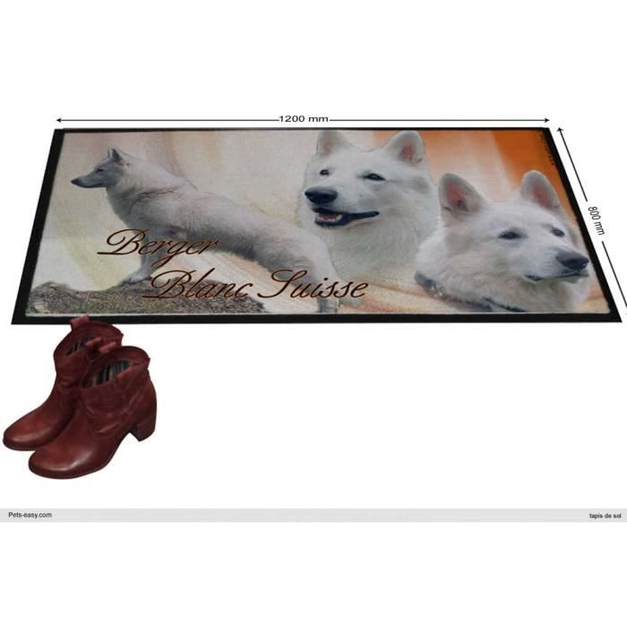 tapis berger blanc suisse poil long 1200 x 800 cm achat. Black Bedroom Furniture Sets. Home Design Ideas