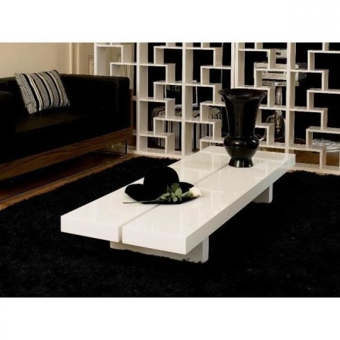 aurore grande table basse japonaise laque blanc de achat vente table basse aurore grande. Black Bedroom Furniture Sets. Home Design Ideas