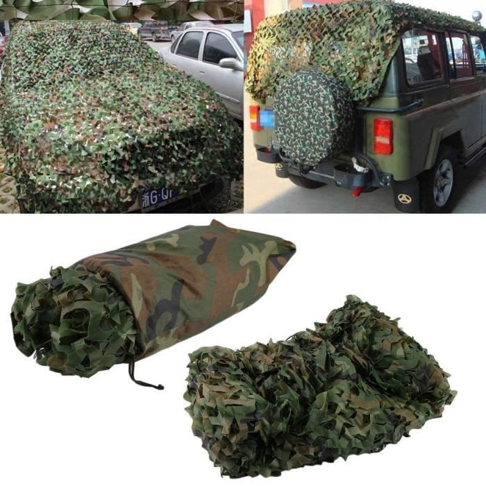 дискриминира мек град Bache Camouflage Militaire 4 X 5 M Protectolympicpeninsula Org