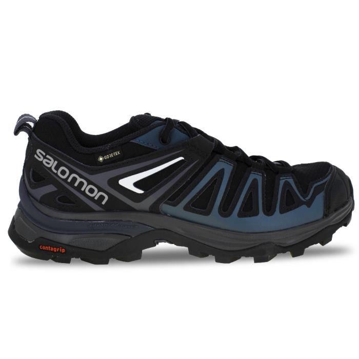 Salomon Femme X Radiant Gore-Tex Chaussures De Marche Bleu Sports Extérieur Imperméable