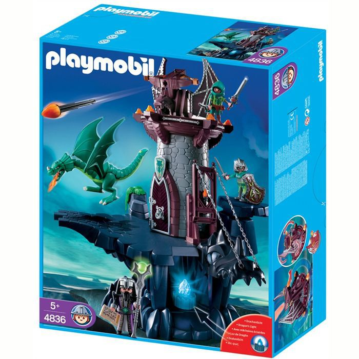 UNIVERS MINIATURE Playmobil Donjon du Dragon Vert