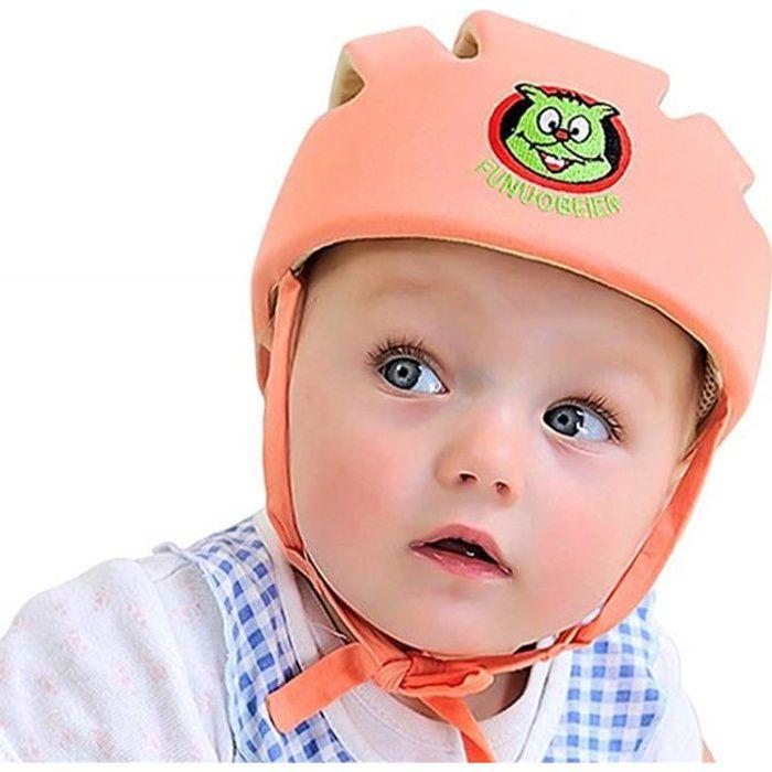 CASQUE ENFANT WAIWAIZUI Casque anti-choc ajustable pour bébé Bon