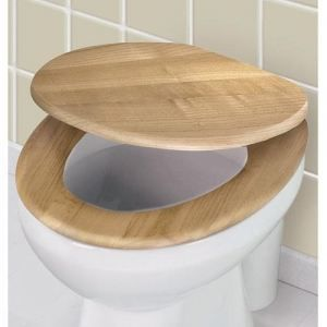 abattant wc bamboo en bois ch ne achat vente abattant wc cdiscount. Black Bedroom Furniture Sets. Home Design Ideas