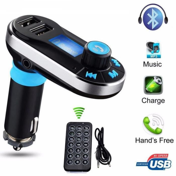 LECTEUR MP3 XCSOURCE Voiture Bluetooth Transmetteur FM MP3 Lec