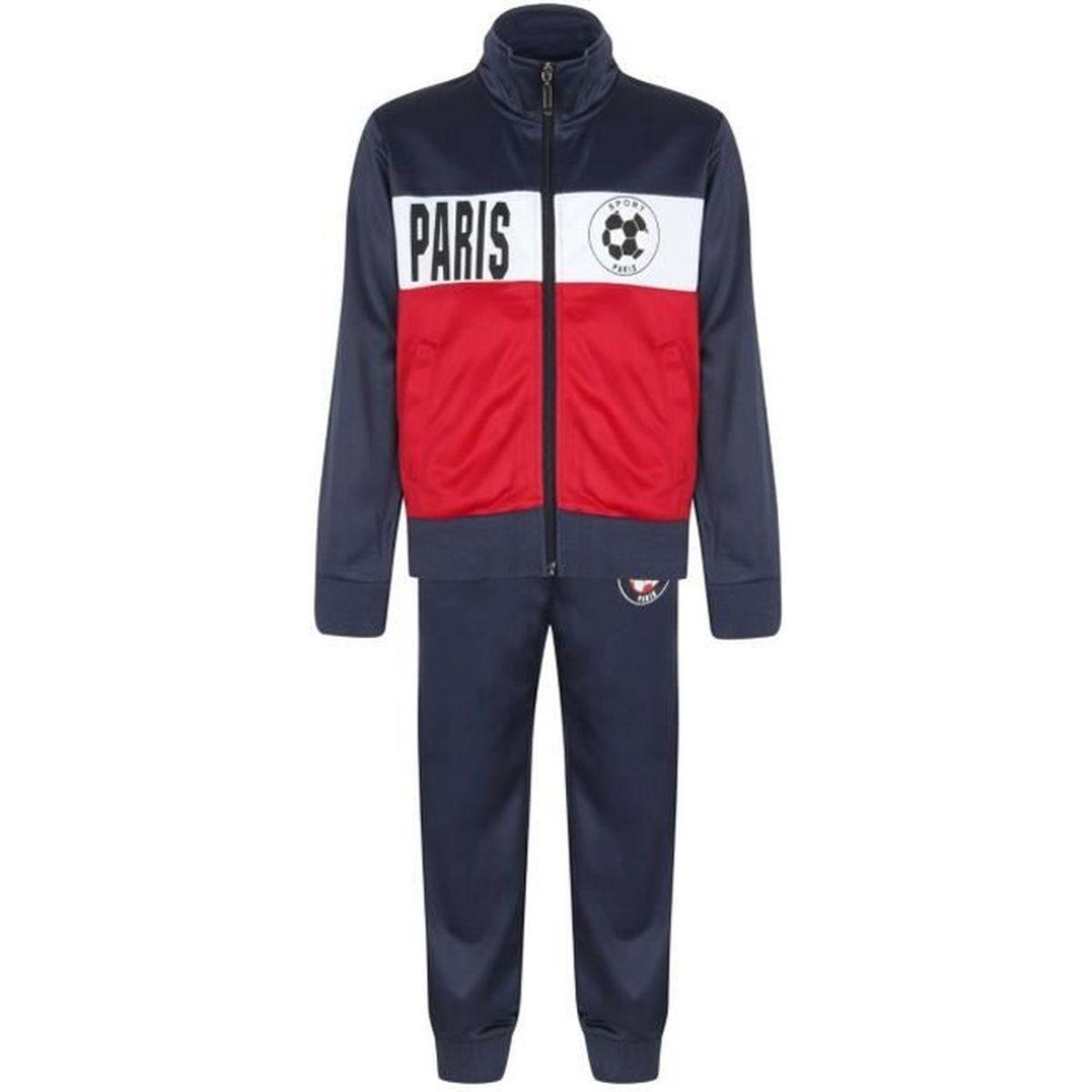 Survetement Jogging De Sport Npz Jogging Survêtement Foot Paris Enfant Taille De 4 à 14 Ans Bleu Achat Vente Ensemble De Vêtements Soldes Sur Cdiscount Dès Le 20 Janvier Cdiscount