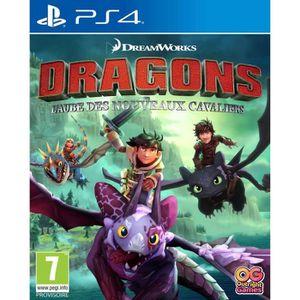 JEU PS4 Dragons: L'aube des nouveaux Cavaliers Jeux PS4