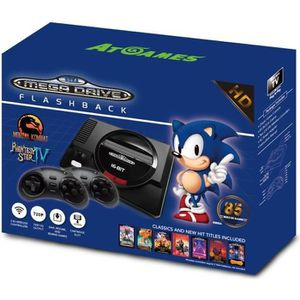CONSOLE RÉTRO JUST FOR GAMES Console SEGA MEGA DRIVE Flashback H