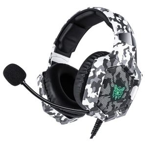 CASQUE AVEC MICROPHONE Casque Gamer Nintendo switch PS4 Xbox one camoufla