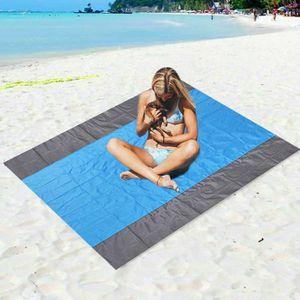 TAPIS PIQUE NIQUE OUTILLAGE DE CAMPINGPlage de sable libre Tapis ext