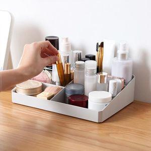 BOITE DE RANGEMENT Boîte de rangement cosmétique de bureau simple - g