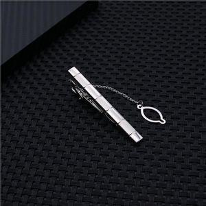 PINCE A CRAVATE Hommes moderne cravates clips métal simple cravate