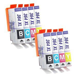 CARTOUCHE IMPRIMANTE x8 HP 364XL Cartouches d'encre compatibles HP Phot