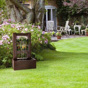 FONTAINE DE JARDIN Blumfeldt Lemuria Fontaine décorative de jardin av