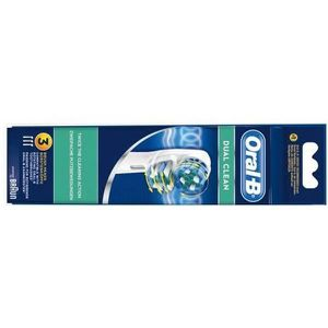 BROSSE A DENTS ÉLEC kit de 3 brossettes Dual Clean EB417-3 Oral-B brau