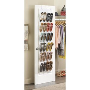rangement chaussures suspendre achat vente rangement chaussures suspendre pas cher cdiscount. Black Bedroom Furniture Sets. Home Design Ideas