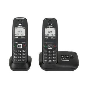 Téléphone fixe Telephone sans fil Gigaset AS415A DUO NOIR